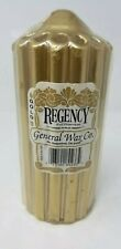 General Wax Co. Gold Regency Candle
