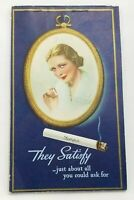 Vintage Chesterfield Cigarette Advertising Bridge Game Tally Book