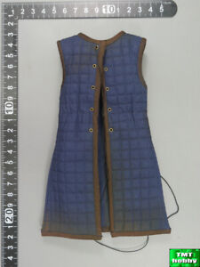1:6 Scale Coomodel SE056 Bachelor of Knights Templar - Blue Sleeveless Gown
