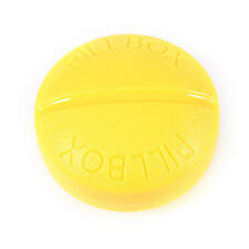 Round Travel Pill Tablet Storage Box Medicine Organizer Container Holder Case