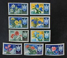 CKStamps: Italy Stamps Collection San Marino Scott#336-344 Mint LH OG