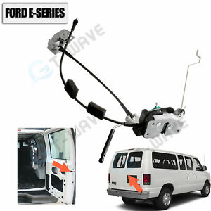 New Rear Right Door Latch Cable & Rod 92-14 Ford E150 E250 E350/OE-AC2Z15431A02A