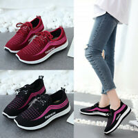 Fashion Women's Breathable Casual Lightweight Lace Up Shoes Sport Running Shoes