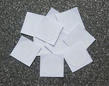 10 x NFC Tag Sticker mit MIFARE Classic® Chip - 3cm Aufkleber rund weiß - 1k