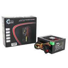 ACE da 750W Nero Gaming PC PSU POWER SUPPLY 6 Pin PCI-E 120 mm rosso Ventola di raffreddamento