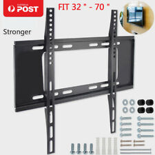 "75KG TV Wall Mount Bracket LCD LED Plasma Flat 32""- 70"" Inch 40 46 50 55 60 70"