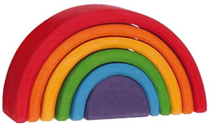 Lime wooden rainbow, Grimm's 10,5 cm