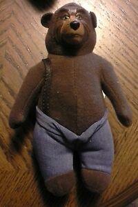 "5"" stuffed McDonald's  Disney's THE COUNTRY BEARS plush Bear"