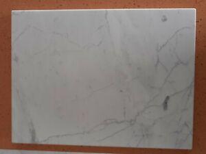 Tagliere marmo di Carrara,sotto pentola,base x stemperare cioccolato 40x30 cm