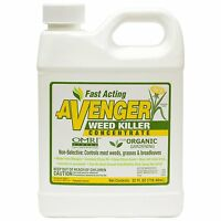 Avenger Weed Killer Concentrate Non Toxic Organic Herbicide OMRI Fast Acting