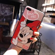 Lovely 3D disney minnie mouse Embossment TPU cover case for iPhone 7 plus 5.5""