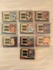 Disney Treasures Reel Piece of History Series 2 Complete 10 Card Film Set Mint