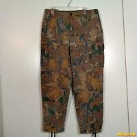 Texsport VANISH  Camouflage Hunting Pants Mens Size L Cotton