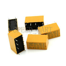 5 pcs High Quality 8 Pins RELAY 5V DC Coil Power Relay PCB < HK19F-DC05V-SHG>