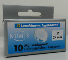 Lighthouse Coin Capsules 27 mm - Pack of Ten