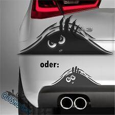 Guck Monster - Aufkleber Sticker / Tuning Sport Fun Auto car JDM decal 20x8 cm