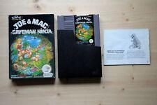 NES - Joe & Mac Caveman Ninja - (OVP, mit Anleitung)