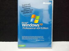 Microsoft Windows XP Win XP Professional x64 Edition, Multilingual UI