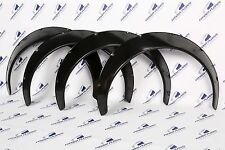 JDM Fender Flares 3.9'' Wide body Universal wheel arch extensions SET 4 Pieces