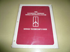 1986 Oldsmobile Toronado Vehicle Diagnostic System Technician's Guide