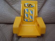 LEGO Technic Seat Sitz 3 x 2 Base gelb yellow 2717 mit AUFKLEBER Set 8207