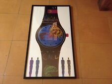 Used  Poster framed - SWATCH WATCH by Jean Michel Jaré  Poster enmarcado - Usado