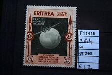 FRANCOBOLLI ITALIA COLONIE ERITREA USATI N°A4 (F11419)