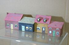 HORNBY BACHMANN LIMA OO KIT BUILT TERRACE HOUSE BACKDROP MODEL SCENE 6 mt