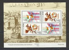 Portugal 1986 - Portugal and Spain in Eurpean Economic Community S/S MNH