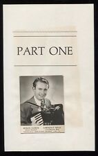 Myron Floren Signed Photo Cut Autographed Signature Accordion for Lawrence Welk