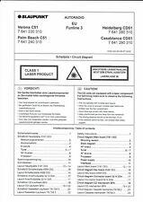 Blaupunkt Service Manual für  Verona/ Palm Beach C 51 Heidelberg/Casablanca CD51