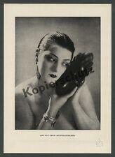 Man Ray Kiki de Montparnasse Frau Akt Erotik afrik. Maske Surrealismus Paris ´26