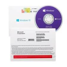 MS Windows 10 Pro Professional 32&64bit DVD kit + License Key Multilanguage
