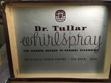 Vintage Dr Tullar Whirlspray Syringe Douche Enema w/ Box and Papers Antique