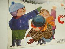 1962 Vintage Advertising Paper Poster   Cheerio Ice Cream Bar  Litho   NOS