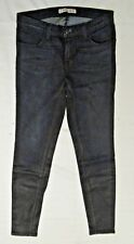 J Brand 620 Power Strech Super Skinny Renegade Dark Coated Jean Sz 28 $210 NWOT