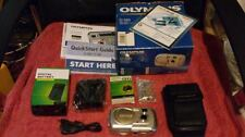 Olympus CAMEDIA D-395 Zoom 3.2 MP Digital Camera, 3X Optical Zoom, Original Box*