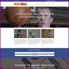 BASKETBALL Website Business For Sale | $1,778.35 A SALE | FREE DOMAIN + HOSTING