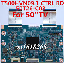 Brand NEW T-Con Board T500HVN09.1 CTRL BD 50T26-C03 With flex cable Fastdelivery