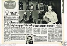 Coupure de presse Clipping 1976 (2 pages) Catherine Arley