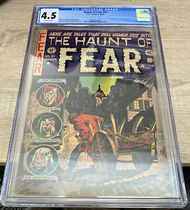 Haunt of Fear 21 (CGC 4.5) EC Comics; 1953 Pre Code Horror