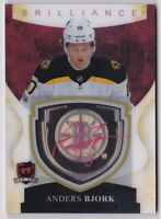 17-18 The Cup Anders Bjork Auto Brilliance Bruins 2017