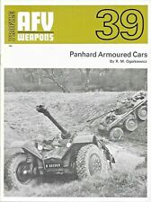 Profile AFV Weapons 39 PANHARD ARMOURED CARS by R M Ogorkiewicz