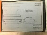 Central Railroad Of New Jersey - Jersey Central Blueprints