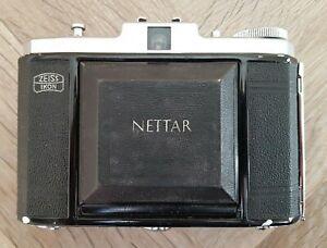 Vintage Zeiss Ikon Nettar Folding Camera (Novar-Anastigmat 1:4,5 f=75mm Lens)