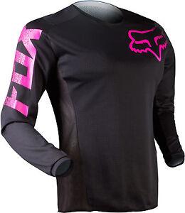 Fox Racing Womens Blackout Jersey Black/Pink