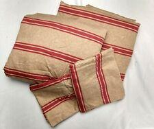 Vintage Ralph Lauren 4PC Queen Sheet Set - Bertrand Stripe
