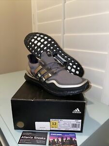 NEW adidas Ultraboost Men's Running Shoes EG8103 MSRP $180 Size 12 DOUBLE BOXED