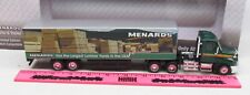 The Menards ~ Freightliner Truck and Trailer with Lumber Billboard