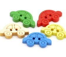 Small Car Buttons 1.9cm 12 Pieces - Australian Seller